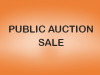 SALE BY PUBLIC AUCTION