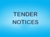 Tender Notice – July 2019